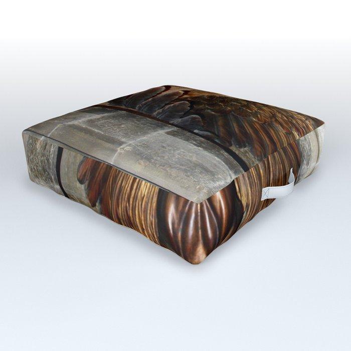 Hippogriff Entrance Outdoor Floor Cushion