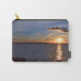 Twin Light Sunrise Carry-All Pouch