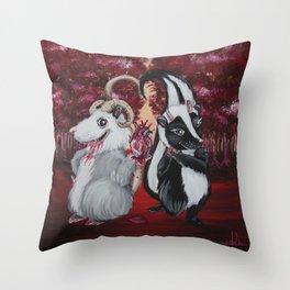 Yum . . . Yum Throw Pillow