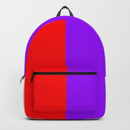 Team Colors 7...red.purple.white Backpack