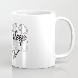 Must Read, Can't Sleep, Need Answers Now Coffee Mug