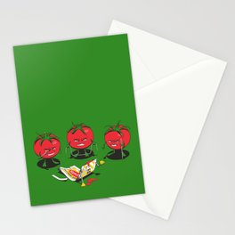 100% Tomate Natural Stationery Cards