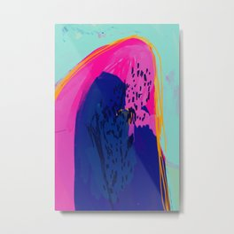 The Mountain Of Color Metal Print
