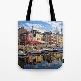 Honfleur Pretty As A Postcard Tote Bag