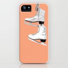 Ice Queen - peach iPhone Case