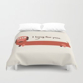 In the Wurst Way Duvet Cover