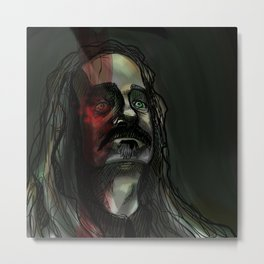 Portrait of a Worm Metal Print