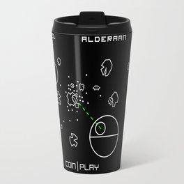 Retro Star Wars Arcade Alderaan Asteroids Travel Mug