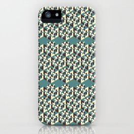 Impossible Square Pattern iPhone Case