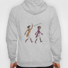Non-Stop Aaron Burr and A.Ham Musical Merchandise Hoody