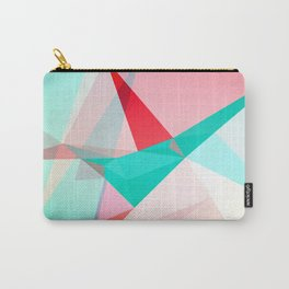 FRACTION - Abstract Graphic Iphone Case Carry-All Pouch