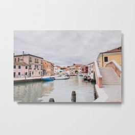 Murano Italy Venice | travel photography | glass island Metal Print