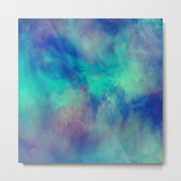 Abstract watercolor grunge pattern Metal Print
