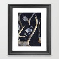 Stag & Stone Framed Art Print