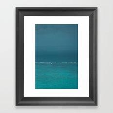Sail Framed Art Print