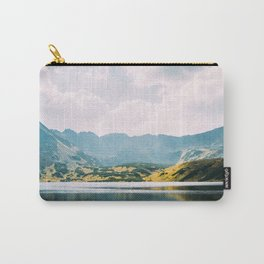 Autumn Mountain Lake Carry-All Pouch