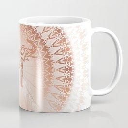 Rose Gold Elephant Mandala Coffee Mug