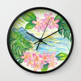 Mount Kilhuea Wall Clock