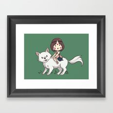 Princess Mononoke II Framed Art Print