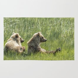 Unbearably Cute - Bear Cubs, No. 5 Rug