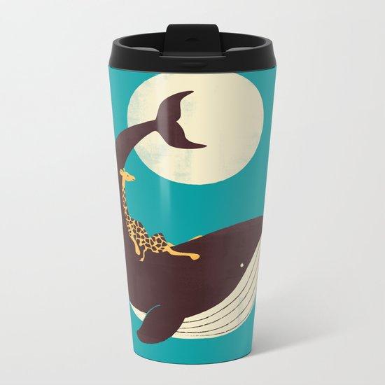 The Giraffe & the Whale Metal Travel Mug