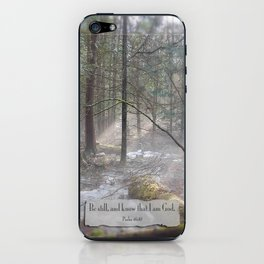 Still Woods iPhone Skin