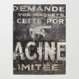 Old sign Poster