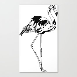 Flamingo #02 Canvas Print