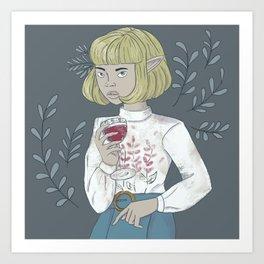 Light Elf Art Print