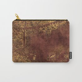 Dark yet warm forest Carry-All Pouch