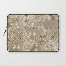 Mermaid Glitter Scales #5 (Faux Glitter) #shiny #decor #art #society6 Laptop Sleeve