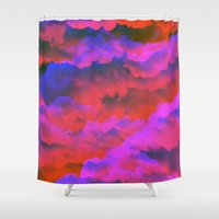 kate moss Shower Curtains featuring Moss by Tyler Spangler