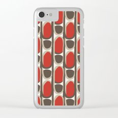 The vintage pattern Clear iPhone Case