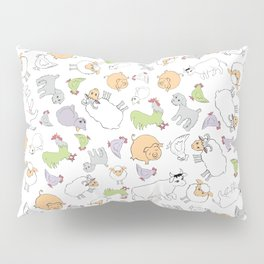The Little Farm Animals Pillow Sham