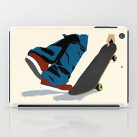 skate iPad Cases featuring skate by the lazy pigeon