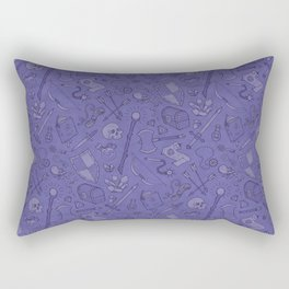 Inventory in Purple Rectangular Pillow