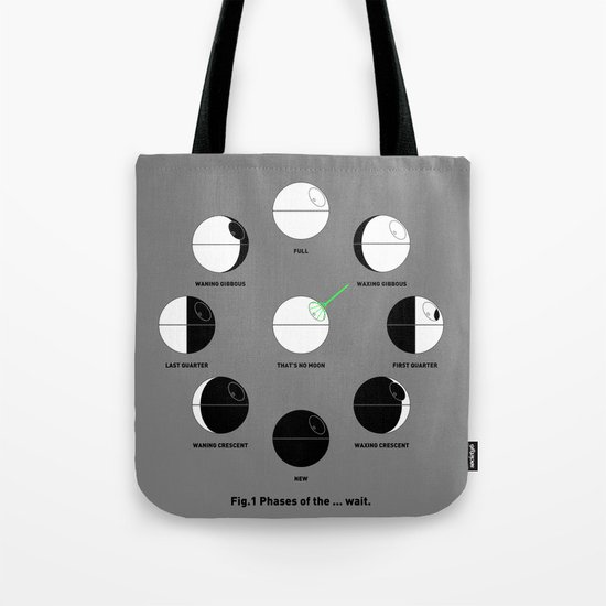 That's No Moon Phases Tote Bag