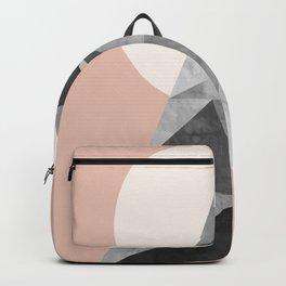 Polygon geometry XIII Backpack