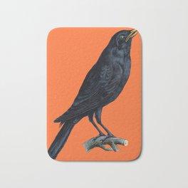 Vintage Raven Bath Mat