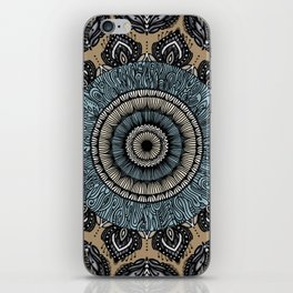 Subtle Tone Mandala iPhone Skin