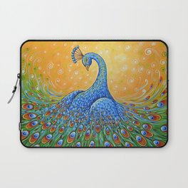 Peacock ... Showing Off Laptop Sleeve