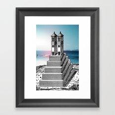 I s l △ n d  Framed Art Print