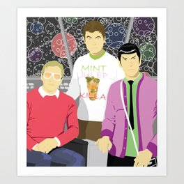 Officers' Lounge Art Print