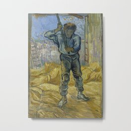 The Thresher (after Millet) Metal Print