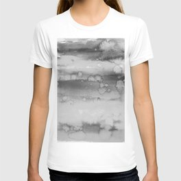watercolor field T-shirt