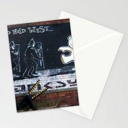 The Mild Mild West - Banksy grafitti Stationery Cards