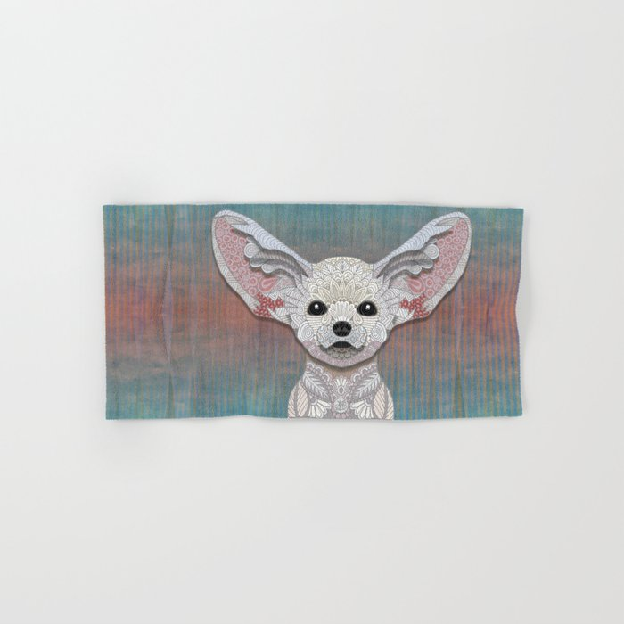 Fennec Fox Hand & Bath Towel