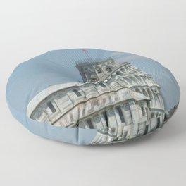 Leaning Tower of Pisa Floor Pillow