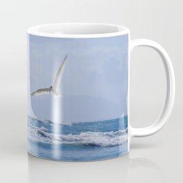 Terns diving into the ocean Coffee Mug