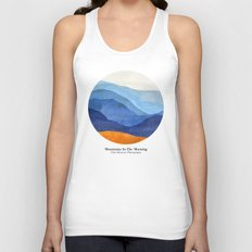 Mountains in the Morning Unisex Tank Top